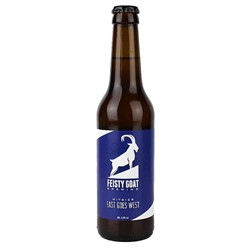 Bild von Feisty Goat Brewing - EAST GOES WEST - WITBIER - 0,33l