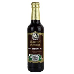 Bild von Samuel Smiths - NUT BROWN ALE - UK 0,33l (MHD 08. Februar 2019)