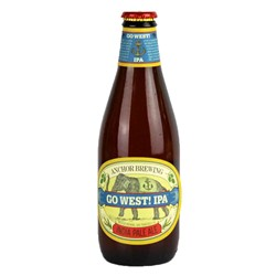 Bild von Anchor - GO WEST - INDIA PALE ALE - USA 0,355l (MHD 30. November 2019)