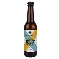 Bild von Hanscraft & Co - Split Decision HALLERTAU STYLE - Juicy IPA - 0,33l
