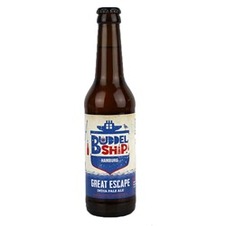 Bild von Buddelship Hamburg - GREAT ESCAPE - IPA - 0,33l