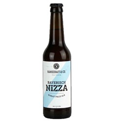 Bild von Hanscraft & Co - BAYERISCH NIZZA - Bavarian Wheat Pale Ale 0,33l