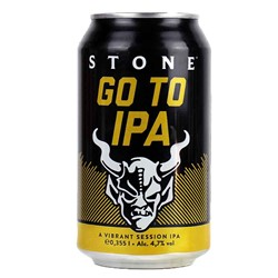 Bild von Stone Brewing Berlin - GO TO IPA - SESSION IPA - DOSE - 0,33l ( MHD 19. Januar 2021 )