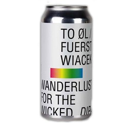Bild von TOØL & Fuerst Wiacek - WANDERLUST FOR THE WICKED - DIPA - 0,44l DOSE