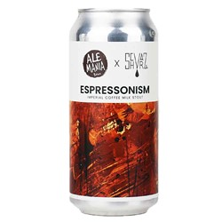 Bild von Alemania - ESPRESSONISM - IMPERIAL COFFEE MILK STOUT - 0,44l DOSE