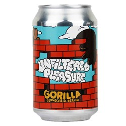Bild von Gorilla - UNFILTERED PLEASURE - HAZY PALE ALE - Dose 0,33l